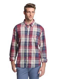 75% OFF Todd Snyder Men's Plaid Shirt
