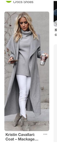 Jeans blancos Cardigan gris Botines grises Suéter gris Love style, but maybe with more color. Fashion 2017, Look Fashion, Fashion Outfits, Womens Fashion, Fashion Ideas, Trendy Fashion, Fashion Fall, Fashion Boots, Fashion Styles