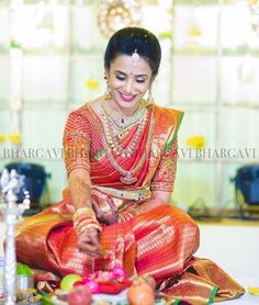 Indian Wedding Makeup, Indian Bridal Wear, Indian Wedding Outfits, Indian Wear, Indian Weddings, Indian Style, Bridal Makeup, Indian Bride And Groom, South Indian Bride