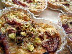 Clafoutis Salato con Fagiolini, Patate, Zucchine e Speck