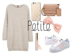 Simple and Cute Petite by mariaelisabeth-r on Polyvore featuring polyvore fashion style Eleventy adidas Originals Valentino Beautycounter clothing powerlook