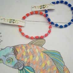 NWT friendship bracelets (skulls) NWT Friendship bracelets with skulls in orange and blue N silver ball beads.  Stretchy. Sold as set trrtlz Jewelry Bracelets