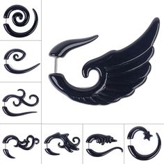 Now available!! 1 Pair Fake Spira... Check it out!! http://shopgeekfreak.com/products/1-pair-fake-spiral-ear-expander?utm_campaign=social_autopilot&utm_source=pin&utm_medium=pin #geek #shopgeekfreak - Think Geek? Shop Geek Freak!