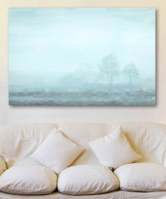 Another great find on #zulily! Hues of Blue Gallery-Wrapped Canvas #zulilyfinds