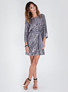 love a casual-ish sequined dress