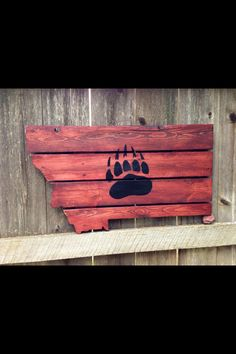 Upcycled pallet board. #upcycled #montana #406 #pallets # ...