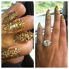 Blac Chyna's Nails! The crazier the better!!