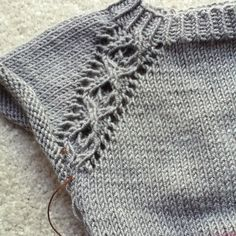 Ravelry: Project Gallery for Rondeur pattern by Mercedes  Tarasovich-Clark - free top down