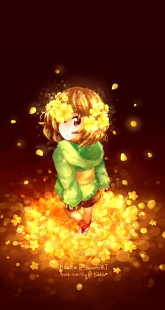 Child of the Golden Flowers by HanaEve on DeviantArt