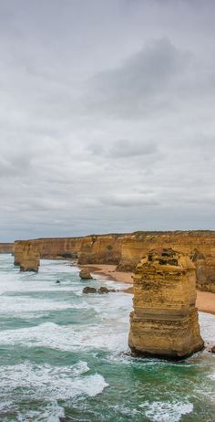 The edge of Australia - 12 Apostles.  Visit the Twelve Apostles and explore the scenic Great Ocean Road in 2 days. Find out where you should stop on this world renowned scenic drive in Australia. Family Travel Melbourne. Roadtrip.