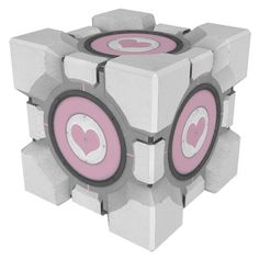 Companion Cube - We can make an ottoman for sitting and storage.