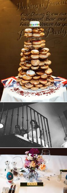 Genoeg mensen worden niet blij van een bruidstaart, maar een bruidstaart hoeft helemaal niet een standaard taart te zijn. Je kunt bijv. besluiten een taart te maken van donuts! Of van muffins, van franse kazen etc.