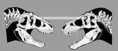 Tyrannosaurus Rex, Skull, Art, Art Background, Kunst, Performing Arts, Skulls, Sugar Skull, Art Education Resources