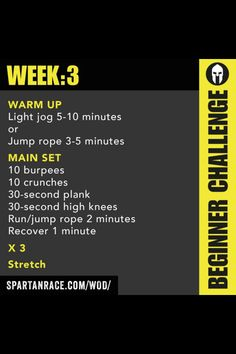 Spartan Up week 3