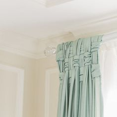 HOME-DZINE | Window Designs - To make a basket-weave panel, start off with 7 strips that can be folded in half over the curtain rail and hang to the floor. Cut 3 strips of fabric for the basket weave. Place the [7] strips on the rail or rod and weave the [3] strips over and under the fabric.