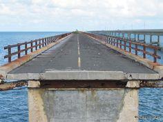 South Section Abandoned Old Seven Mile Bridge Florida Keys
