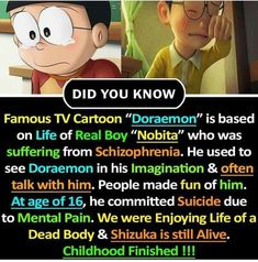 We only know the funny side of nobita. True Interesting Facts, Some Amazing Facts, Interesting Facts About World, Intresting Facts, Unbelievable Facts, Wierd Facts, Wow Facts, Real Facts, Wtf Fun Facts