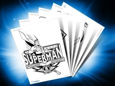 Themed Printables: Superman | DC Comics