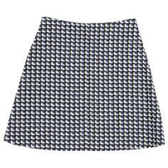 Carven Cotton Skirt   Vestiaire Collective