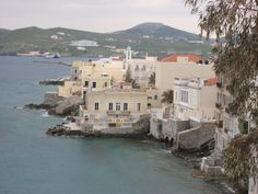 Hermoupolis Asteria Island, Mansions, Landscape, House Styles, Scenery, Manor Houses, Villas, Islands, Mansion