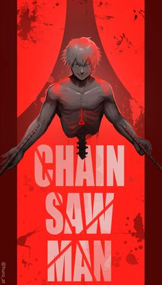 Cool Wallpapers Art, Animated Wallpapers For Mobile, Animes Wallpapers, Otaku Anime, Manga Anime, Chain Saw Art, Texas Chainsaw Massacre, Stihl Chainsaw, Man Illustration