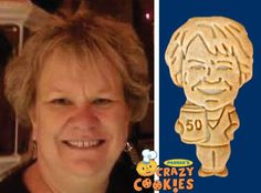 50th Birthday Party - Ideas - Customized - Cookies - Personalized - Party Favors