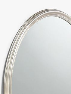 Round Wall Mirror, Wall Mounted Mirror, Round Mirrors, John Lewis Shops, Mirror Shapes, Wooden Frames, Cleaning Wipes, Illusions, Bathroom