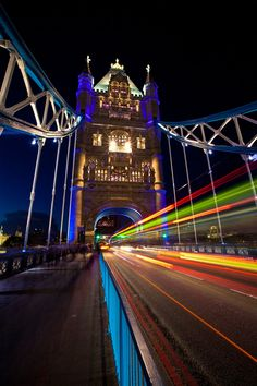 Warp Speed #1 by Chris Muir (Tower Bridge, London)
