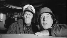 """Al Borde del Abismo"" (""The Bedford Incident"", 1965). Dir. James B. Harris. Stars: Richard Widmark, Sidney Poitier, James MacArthur."