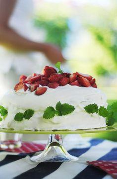 Strawberry cake - Trendenser.se