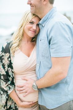 Beach Maternity shoot captured by Lauren Bauer of JL Photography. Edited with Mastin Labs Fuji 400H, all soft.