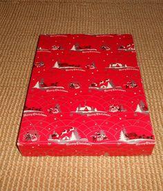 Vintage Hudson's Dept Store Christmas Box Detroit MI 1940 50'S   eBay