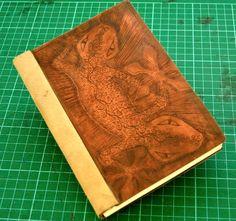 Copper plate book by Kris Larsen