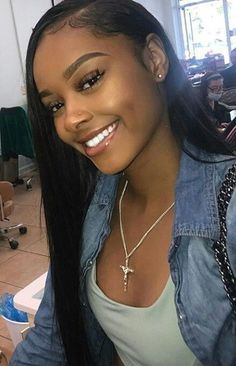Brazilian Straight Human Hair Wigs Adjustable Pre Plucked top lace Closure HumanHair Wigs 100 Unprocessed Remy Hair For Black Women Black Girls Hairstyles, Wig Hairstyles, Straight Hairstyles, Short Haircuts, Hairstyles 2016, Medium Haircuts, Gorgeous Hairstyles, Trendy Hairstyles, Latest Haircuts