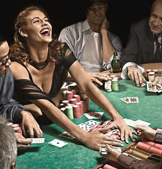 Here you see people playing poker. Holly loses dollars by playing poker, which infuriates Charlie. Holly is unable to pay her debt, so her debt raises every week with 1000 dollars.
