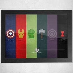 Marvels Avengers Print