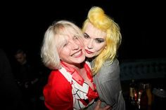 Debbie Harry & Pam Hogg Now that's #Music & #Fashion Inspiration!