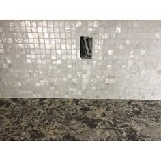 Ivy Hill Tile Baroque Random Sized x SeaShell Mosaic Tile Stone Mosaic Tile, Mosaic Wall Tiles, Mosaic Glass, Tuile, Dining Room Walls, Color Tile, Sea Shells, Jewelry Stores, Grid