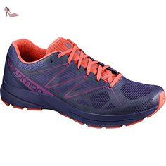 Salomon Sonic Pro 2Chaussures de Course pour Femme, lila / korall, 45 EU / 10,5 UK - Chaussures salomon (*Partner-Link)
