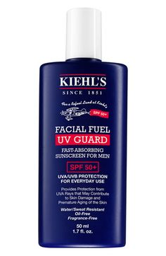 Kiehl's Since 1851 Kiehl's Since 1851 'Facial Fuel - UV Guard' Sunscreen SPF 50 available at #Nordstrom