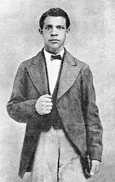 Young Booker T.Washington  Hes looking very dapper