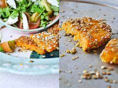 Quinoa breaded butternut squash by como.come.cami