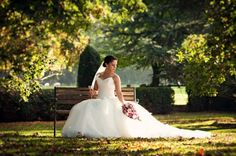 Beautiful Bride Rebecca at Middleton Lodge