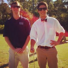 Pledge/Brother Golf day at SAE FL NU