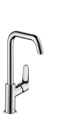 Single lever basin mixer 240 with swivel spout