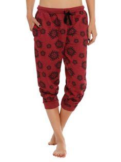 Supernatural Symbols Girls Pajama Pants