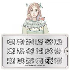 Enchanted Nail Art Design 09