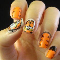 31DC2013 Day 2: Orange Nails