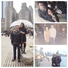 A day trip to Chicago long drive downtown & navy pier Matilda on Broadway and dinner at The Bedford. Good times Alhumdulillah by mkhan611