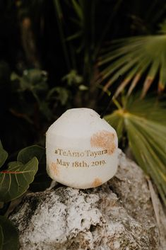 Fresh Coconut Water Personalization ∙ Planning, designing by Destination Weddings Tulum ( on IG) Coconut Drinks, Coconut Water, Low Chignon Bun, Long Engagement, Boho Beach Wedding, Wedding Weekend, Destination Weddings, Tulum, Beautiful Beaches